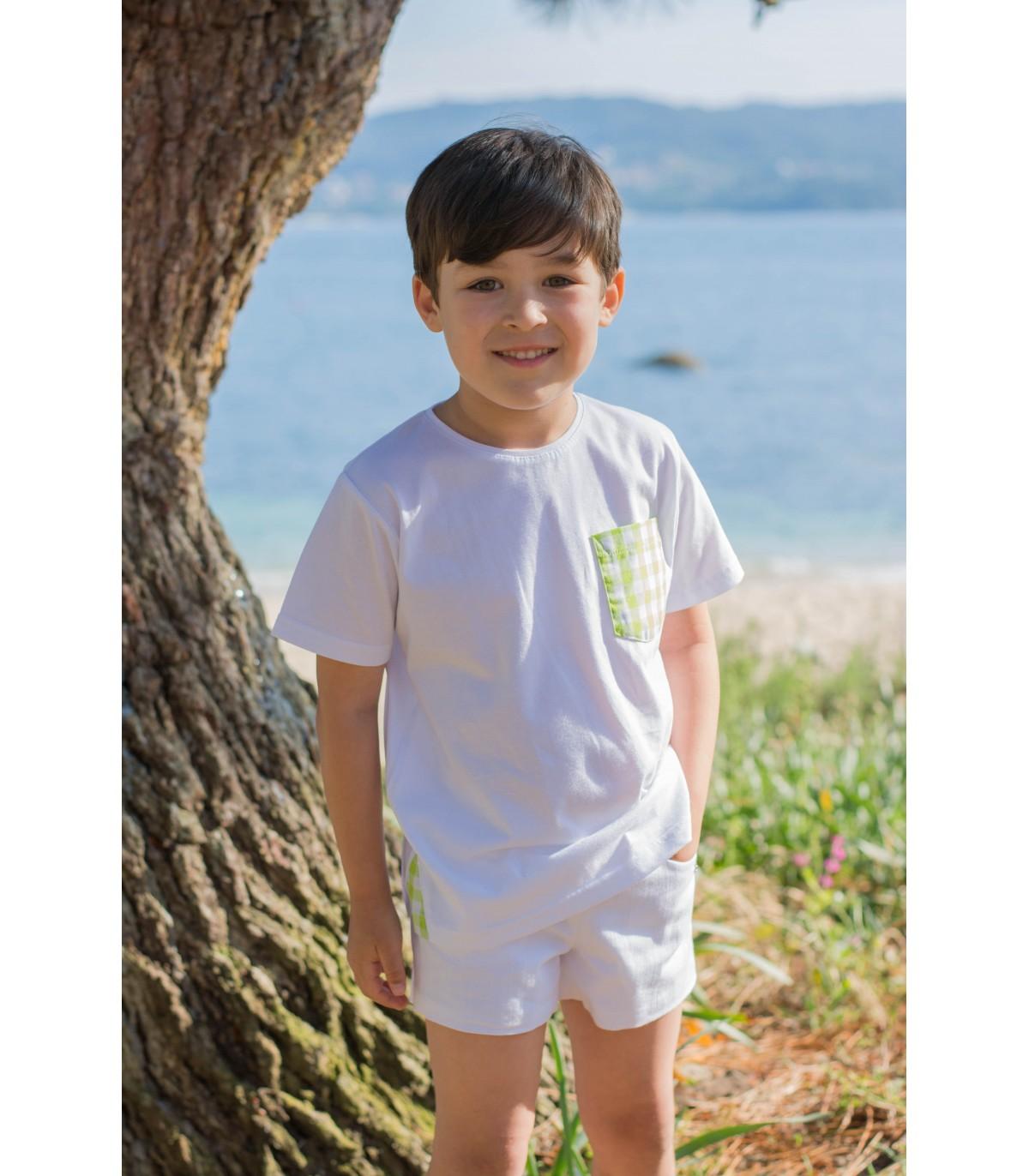 Camiseta de niño RIQUIÑA