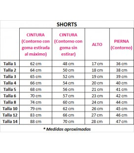 Short Unisex XEITO