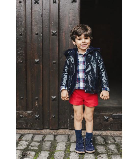 NAVY Boy Raincoat