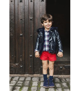 NAVY Boy Raincoat