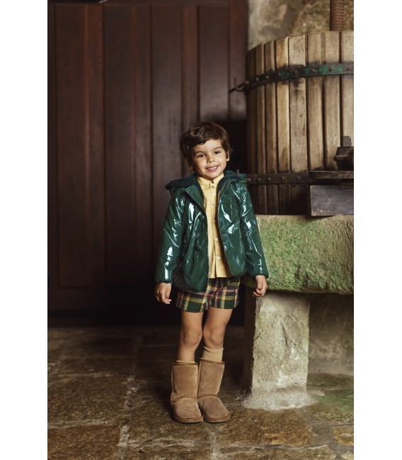 GREEN Boy Raincoat