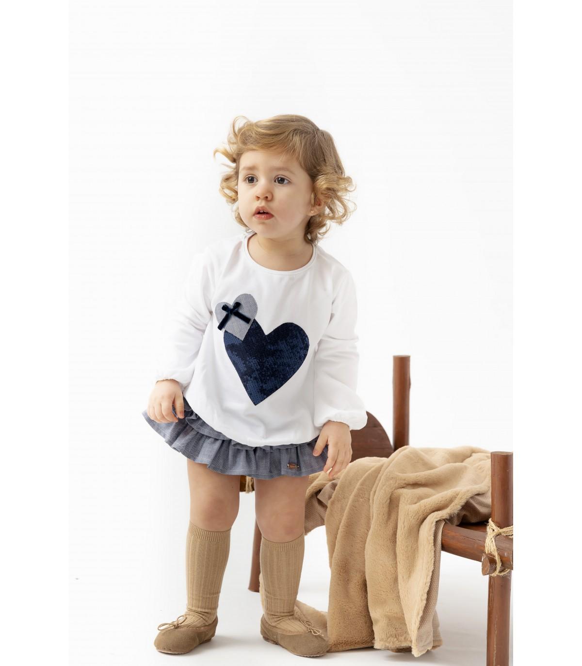 Camiseta Niña Baby XANELA