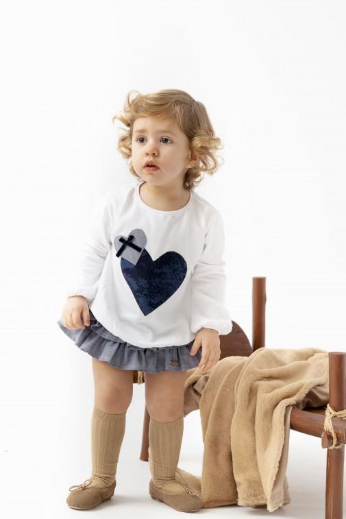 Camiseta Baby Xanela